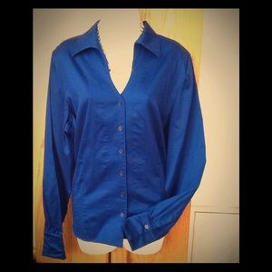 Coldwater Creek long sleeve blouse size 18